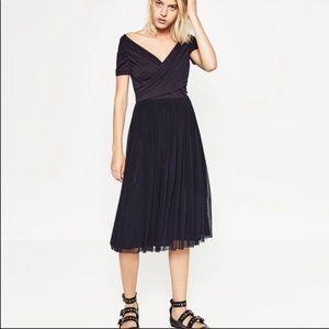 Zara tulle dress